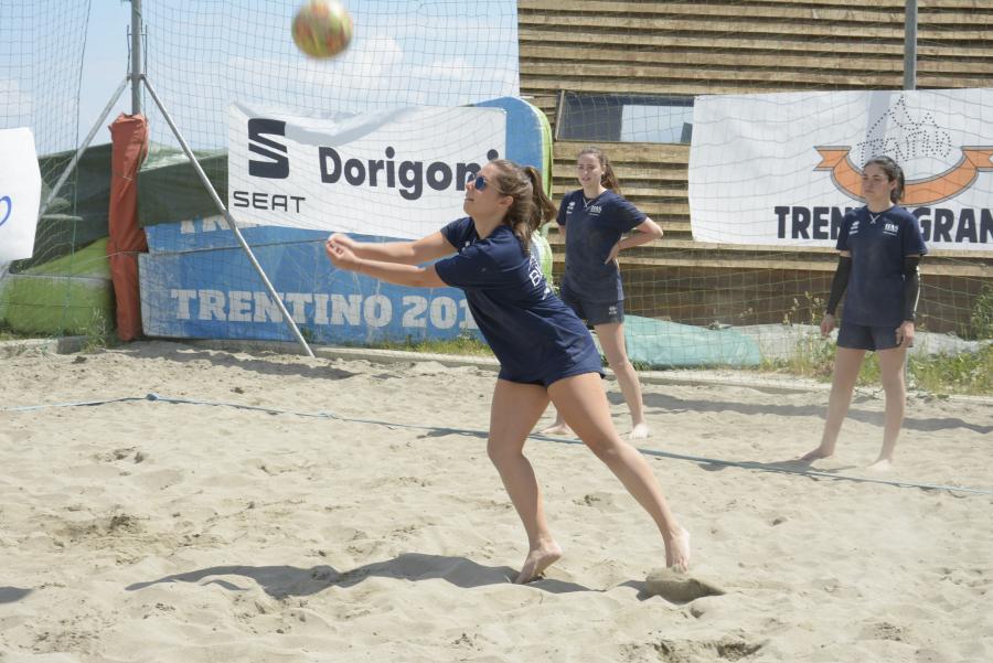 Bagher sui campi da Beach Volley