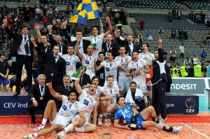 Iraklis piegato 3-1, Trentino Volley campione d'Europa!!!