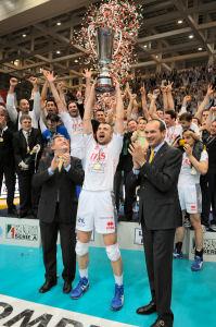 PIACENZA SCONFITTA 3-0, ITAS DIATEC TRENTINO CAMPIONE D'ITALIA!!!