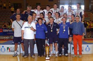 Itas Diatec Trentino Campione d'Italia Under 18