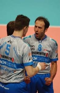 Líopposto azzurro Andrea Sartoretti vestiraí la maglia dellíItas Grundig Trentino.