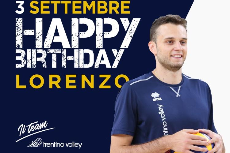 Buon Compleanno A Lorenzo Codarin